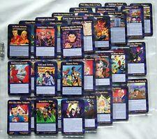 Illuminati New World Order- Assassins Common Set - ALL 50 CARDS - ALL CARDS MINT