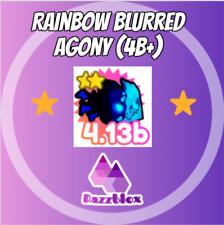 ⭐CHEAP + FAST⭐ Rainbow Blurred Agony - Pet Simulator X (Pet Sim X) + 1M GEMS 💎