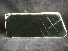 Jade Chloromelanit (Jadeit,Diopsid,Aegerin) 11,8x4,8cm Anschliff -Mineralien-