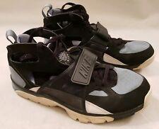 Nike Air Huarache Black Blue White Trainers UK Size 13 679083-016