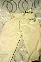 Bike White Baseball Softball Pants Size Youth XL