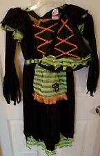Story Book Witch Costume Dress up Girls Size 4-6X