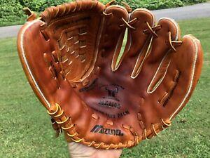 """Mizuno MZ 1145 Steer Hide Power Lock 11.5"""" size glove R-H Y-infielder USA mint"""