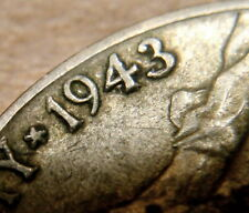 U.S. 1943/2 Error Jefferson Silver War Nickel Philly + Die breaks! Free Shipping