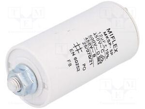 Condensateur moteur de démarrage / permanent 12µF 12uF 450V à cosses + vis CBB60