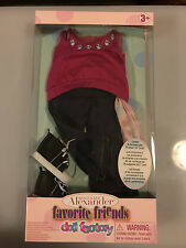 "Madame Alexander Doll Factory Favorite Friends SPARKLIN' STYLE for 18"" Dolls NIB"