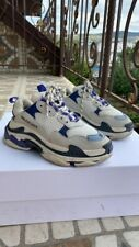 Balenciaga Sneakers Triple S Blue White 37 US 7