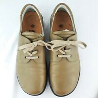 Birkenstock Footprints Womens 41 EU Size 9.5 US Leather Oxford Lace Up Brown EUC