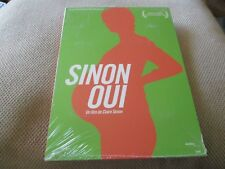 "DVD DIGIPACK NEUF ""SINON OUI / COUTE QUE COUTE"" Claire SIMON (1 film + 1 docu)"