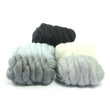 Foschia GRIGIO-Tinti Merino Wool TOP-felting-ROVING-filatura - 250g