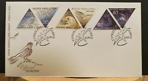REPUBLIC OF CYPRUS 🇨🇾 BIRDS OF PREY OF CYPRUS 2003 FIRST DAY COVER