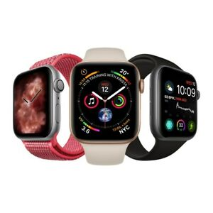 Apple Watch Series 4  40/44mm GPS/Cellular - Space Grey / Silver / Gold GRADE C