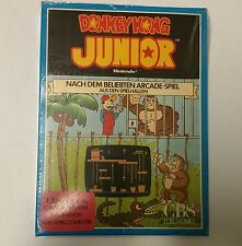 NEW SEALED RARE CBS GERMAN VERSION DONKEY KONG JR JUNIOR GAME FOR INTELLIVISION