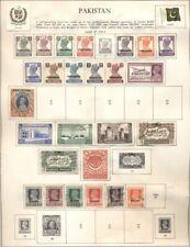 PAKISTAN: Collection of @335 on Minkus/Harris Pages - 1947-1988 + Bahawalpur
