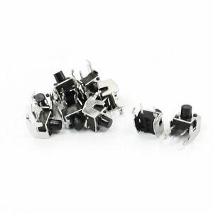 Type de momentané bouton poussoir tactile Micro interrupteur 2broches Lot de 10