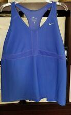 343d268506a Nike Women s Plus Size Medium Support Sports Bra Tank top 3x 3xl xxxl blue