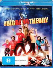 The Big Bang Theory: Season 5 (2 Discs)  - BLU-RAY - NEW Region B