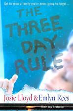 The Three Day Rule by Josie Lloyd, Emlyn Rees (Hardback, 2005)