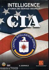 DVD=CIA=INTELLIGENCE STORIA DEI SERVIZI SEGRETI=
