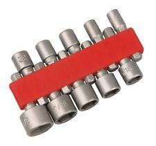 Hilka 10 Piece Nut Hex Bolts Socket Driver Set 4mm 5 6 7 8 9 10 111 12 13mm