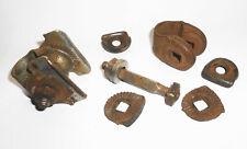 Material Antiguo Abrazadera de Sillín Soporte Silla Montar Asiento Bicicleta (O9