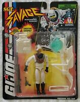 G.I. JOE SGT SAVAGE ARCTIC STORMTROOPER WITH SHOOTING CATAPULT BLASTER
