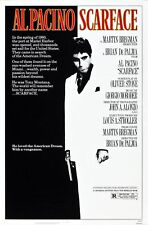 SCARFACE NEAR MINT ROLLED ORIGINAL 27X41 MOVIE POSTER 1983 AL PACINO LOGGIA NM