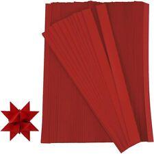 Creativ Company 20932 Papierstreifen Zum Falten Von Sternen rot