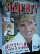 Majesty Magazine Diana And Dating, Queen's Childhood Pics V16 #3 March 1995