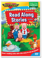 Read Along Stories on DVD by Rock 'N Learn (New)