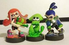 Nintendo Inkling Blue Boy, Orange Girl, Green Squid - 3 Pack - Splatoon Series