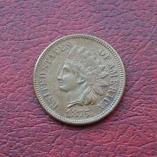 More details for usa 1875 bronze small cent