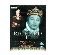 Richard 2 II DVD Derek Jacobi BBC Shakespeare Collection DVD New UK Release R2