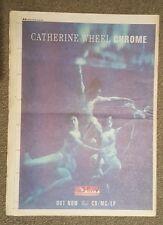 Catherine Wheel Chrome 1993 press advert Full page 30 x 42 cm mini poster