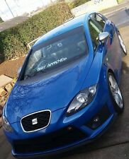 SEAT Approved Ibiza Leon FR Window Vinyl Car Sticker Decal Lowered Stance JDM