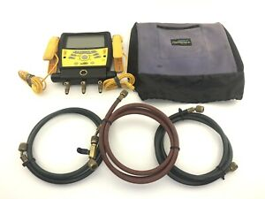 *PRE-OWNED* Fieldpiece SMAN360 3-Port Digital Manifold & Micron Gauge
