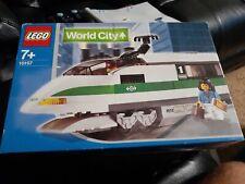 Lego Train 9V World City 10157 High Speed Train Locomotive NEW SEALED