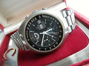 HTF S/S Men's 1982 Vintage Omega Speedmaster Chronograph Watch 176.0012 w/ Box