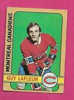 1972-73 OPC # 59 CANADIENS GUY LAFLEUR 2ND YEAR  GOOD CARD  (INV# D4425)