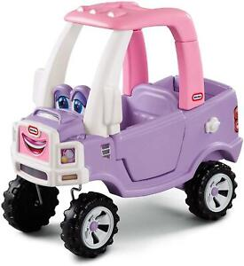 Little Tikes Princess Purple and Pink Cozy Ride On Truck