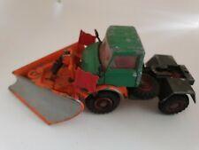 Vintage  Corgi Toys   Green Unimog 406 Snow Plough - Cab & Snow plough