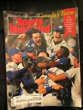 Toronto Blue Jays World Champs 1992 - Sports Illustrated - MINT