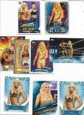 WWE Mandy Rose Card LOT w/Slam Attax Cards