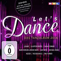 LET'S DANCE-DAS TANZALBUM 2016 (INKL.BONUS-DVD)  2 CD+DVD NEW