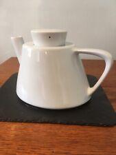 IKEA Teapot -15199 - Varme - Swedish Design Ceramic White Art Deco - USED