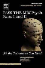 USED (LN) Pass the MRCPsych Parts I & II: All the Techniques You Need, 3e (MRCPs