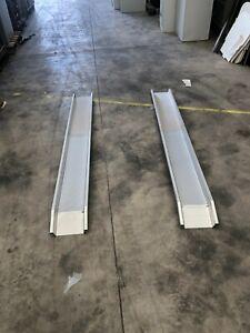 Pair of Aluminium Folding Loading Ramps