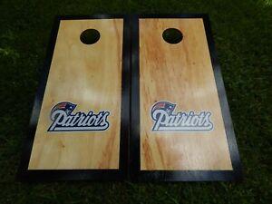 Regulation New England Patriots Cornhole Board Set W/ Bags save  $10.00