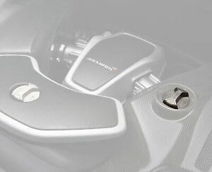 Genuine McLaren 12C/650S/675LT Titanium finish Engine OIL&Water/Coolant tank cap