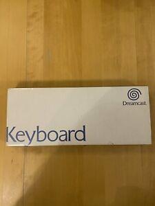Sega Dreamcast Original Keyboard Tastatur OVP With Box Good Condition